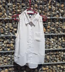 Bijela košulja bez rukava