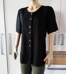 Crna elegantna bluza br 38 - 40 - NEXT