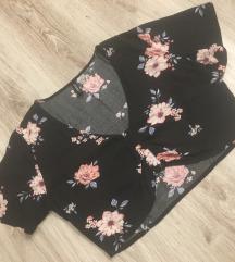 H&M cvjetni crop top
