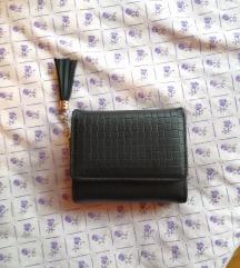 crni srednji novčanik