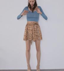 Zara snake print hlače