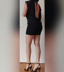 Motivi Crna sexy haljina otvorena ledja