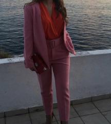 Popularno Zara rozo odijelo