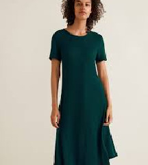 Mango zelena haljina