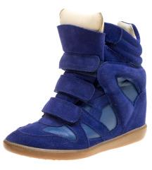 Isabel Marant royal blue tenisice