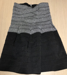 Kratka haljina od traka gume