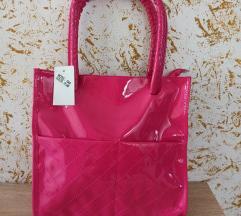 Nova pink torba // lakirana