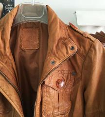 NOVA S.Oliver konjak kožna jakna