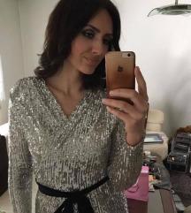 DESIINIA DIZAJN zlatna haljina
