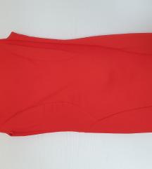 Zara coral haljina