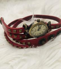 Crveni kožni sat!
