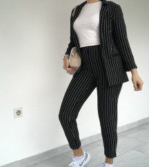 H&M odijelo crno