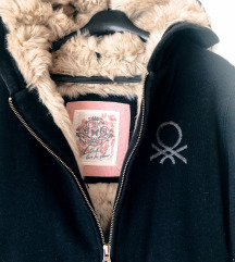 Hoodica s krznom