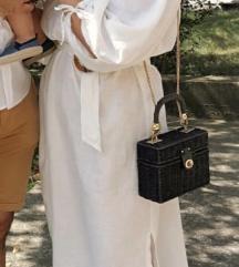 Bijela lanena haljina