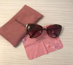 Sunčane naočale Mango smeđe