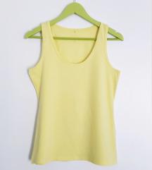 Njezno žuta majca bez rukava