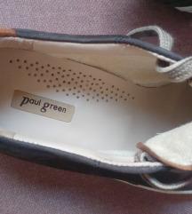 Kožne tenisice Paul Green jednom nošene