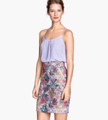 H&M šarena suknja 38