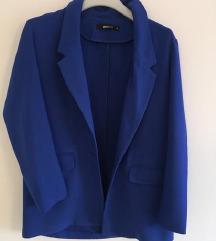 Kraljevsko plavi sako blazer vel 36-38