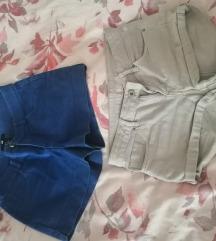 Dvoje ljetne hlačice h&m 50kn