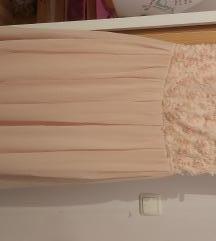 Ružičasta Amisu haljina