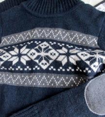 %%% Topla pletena haljina M