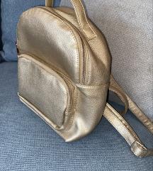 Mini zlatni ruksak