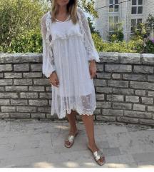 Ljetna bijela haljina
