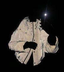Siva fluorescentna jakna