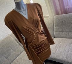 Saten elegantna haljina