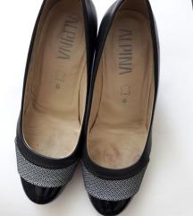Alpina kožne crne cipele  vel. 38