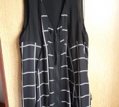Reserved crna haljina/prsluk na cif