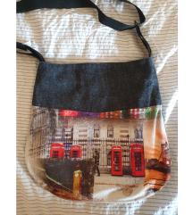 Handmade London torba