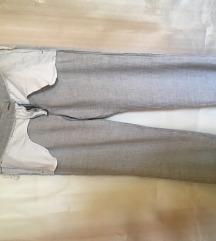 Ljetne hlače Marella lan/viskoza