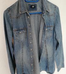 H&M jeans jaketa %%% SNIZENO