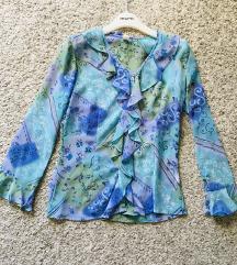 Šarena vintage košulja bluza vel M-L