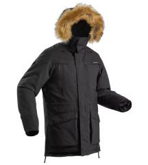 Quechua decathlon jakna muška topla crna