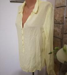 Amisu nježno žuta košulja