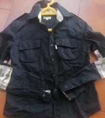 Crna military košulja vel S