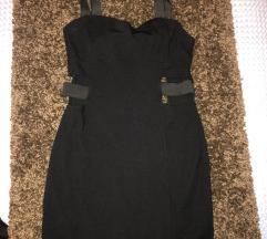 Crna cut out haljina