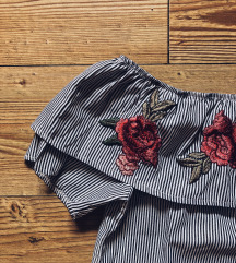 Bluza s prugama