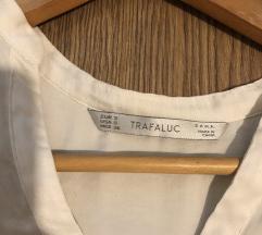 Zara bijela svilena košulja