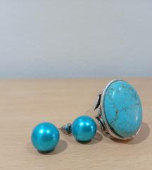 Prsten+naušnice