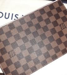 Louis Vuitton pochette damier ebane original