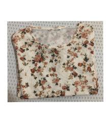 Stradivarius cvjetna/floral bluza od tila