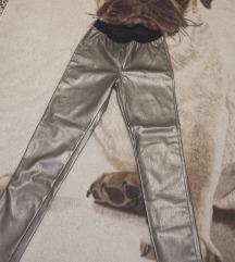 Srebrne hlače M/L