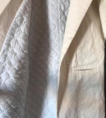 Topli zimski bijeli kaput (S/M)