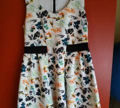 Naf Naf cvjetna haljina, vel L