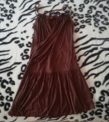 Smeđa haljina/tunika (one size)