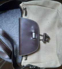 Biasia torba%%koža platno